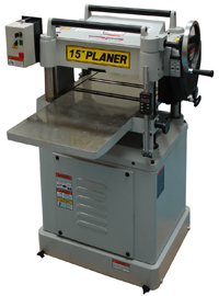The Woodworkers Paradise:: Somac 15Inch Thicknesser